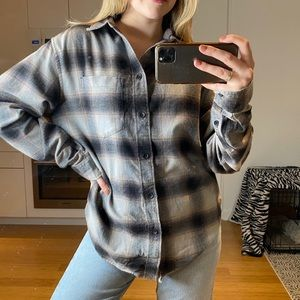 NWT UO gray flannel